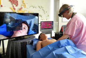 Image Credit: Baltimore Sun - Bringing Virtual Reality to Mediacal Treatments