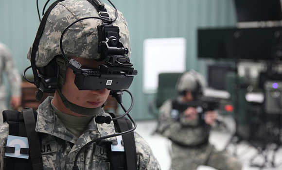 Using VR In Military Training